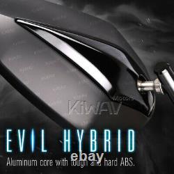 10mm Universe-wide Black Venom Mirror For Honda Xrv 750 Africa Twin Vf 1000