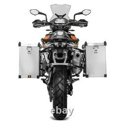 Aluminium Bags - Supports For Honda Africa Twin Xrv 750 / 650
