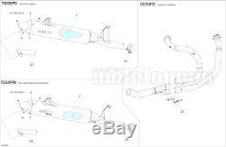 Arrow Exhaust Approves Pot Paris Dacar Xrv Honda Africa Twin 750 1996 96