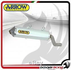 Arrow Exhaust Pot D'enduro Alumilite Allu Honda Africa Twin Xrv 750 1997