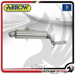 Arrow Exhaust Pot D'paris Dakar App Steel Honda Africa Twin Xrv 750 2004