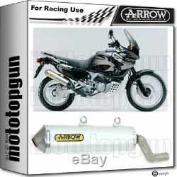 Arrow Exhaust Pot Enduro Race Alumilite Xrv Honda Africa Twin 750 2004 04