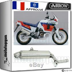 Arrow Exhaust Pot Paris Dacar Steel Hom Honda Xrv 750 Africa-twin 1992 92
