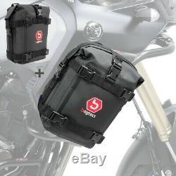 Bag Bumper Casing Pair For Honda Africa Twin Xrv 750/650 K3 6 L Black