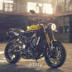 Black 3d Achilles Mirror - Gold For Honda Xrv 750 Africa Twin Vf 1000