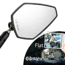 Black-green Achilles Rearview Mirror For Honda Xrv 750 Africa Twin Vf 1000