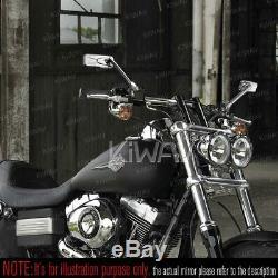 Chrome Motorcycle Mirror Convex Cnc Honda Africa Twin 750 XIV Vf 1000