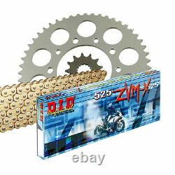DID 525zvm-x Chain Set Kit For Honda Xrv 650 Africa Twin Rd03 1988-1990
