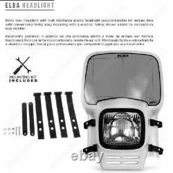 Elba Blanc Fires - Nost Fender - Baja Honda 750 Xrv Africa Twin 1988-1998