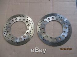 Front Brake Discs For Honda 750 Africa Twin Xrv Rd07