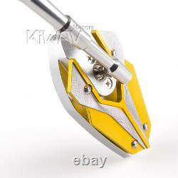 Golden Yellow Viper Model Mirror For Honda Xrv 750 Africa Twin Vf 1000