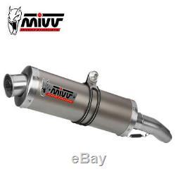 Honda Xrv 750 Africa Twin 1997 1998 Pot MIVV Oval Titanium Exhaust Approved