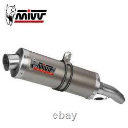Honda Xrv 750 Africa Twin 2001 2002 Pot MIVV Oval Titanium Exhaust Approved