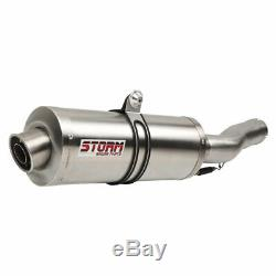 Honda Xrv 750 Africa Twin Storm By 1993-2002 Exhaust MIVV Oval