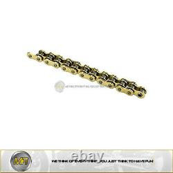 Honda Xrv Africa Twin 750 From 1990 To 2003 Chain Rtg1 Not 525 124 Gold Color