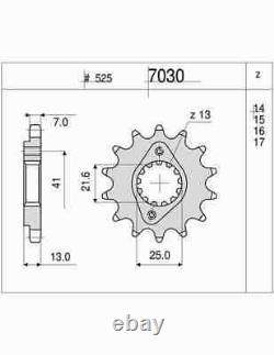 Kit Chain DID Honda Xrv 750 Africa Twin 750cc 94-03 (16-45-124)