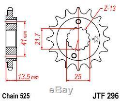 Kit Chain Honda Xrv650 Africa Twin 88-90 16/49 525 Oring Hyper Reinforced