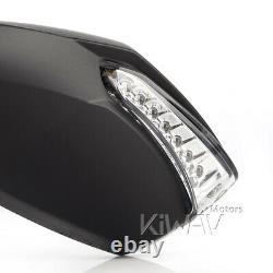 Led Mirrors Flashing Integrated Motorcycle For Honda Xrv 750 Africa Twin Vf 1000