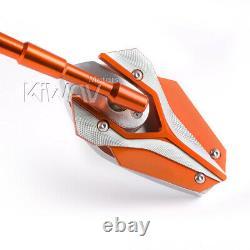 Magazi Mirror Model Viper Orange For Honda Xrv 750 Africa Twin Vf 1000