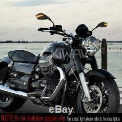 Mirror Mark E-flashing Carbon Motorcycle Honda Fourteenth 750 Africa Twin Vf 1000
