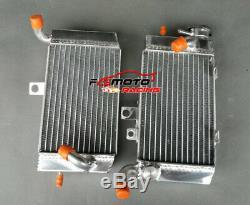 New Aluminum Radiator L & R For Honda Africa Twin 750 Xrv Xrv750