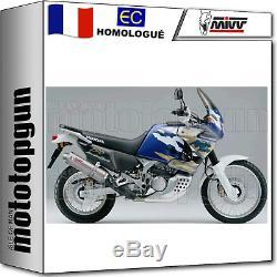 Pot D MIVV Exhaust Titanium Oval Hom Xrv Honda Africa Twin 750 1997 97