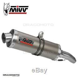 Pot Exhaust Honda Xrv 750 Africa Twin 2001 2002 Oval MIVV Titanium