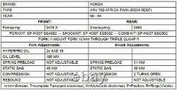 Progressive Springs For Honda Xrv750 Africa Twin Rd04/rd07 (1988-1994)