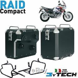 Side Cases Raid Compact 33 + 39 Lt Honda Xrv 750 Africa Twin (rd04 / Rd07) '93 / 03