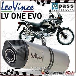 Silent Approves Leovince LV One Inox Evo Xrv Honda Africa Twin 750 2000 2001