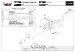 Silent Counterpart Oval H. 024. Ln Xrv MIVV Honda Africa Twin 750 2000 00