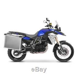 Suitcases Side Aluminum 2x34l + 16mm Kit For Honda Africa Twin Xrv 650/750