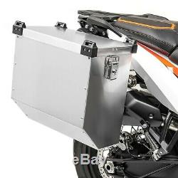 Suitcases Side Aluminum 2x36l + 16mm Kit For Honda Africa Twin Xrv 650/750