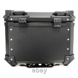 Top Aluminium Case For Honda Africa Twin Xrv 750 Bagtecs Xb55 Black