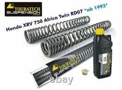 Touratech Progressive Springs For Honda Xrv750 Africa Twin Rd07 Ab 1993