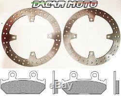 1050 Paire Disques Avant Plaquettes Honda XRV Africa Twin 750 RD07 1993 1994