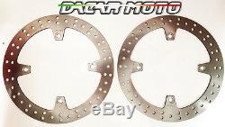 1050 Paire Disques avant Honda XRV Africa Twin 750 Rd07a 2000 2001 2002 2003