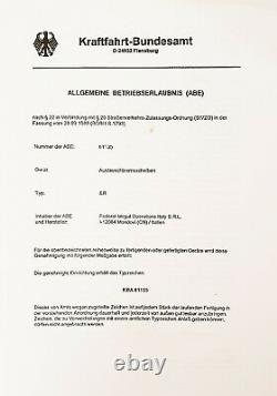 2 Disques de Frein Avant ferodo Honda XRV R Africa Twin 750 1993 Certificat ABE