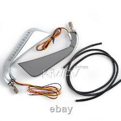 AXE chromé rétroviseurs LED Clignotant pour honda xrv 750 africa twin VF 1000