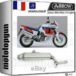 Arrow Pot D Echappement Approuve Paris Dacar Honda Xrv 750 Africa Twin 1991 91