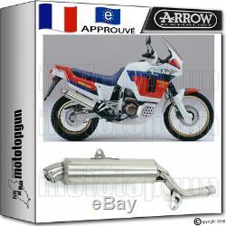 Arrow Pot D'echappement Paris Dacar Acier Hom Honda Xrv 750 Africa-twin 1992 92