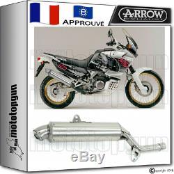 Arrow Pot D'echappement Paris Dacar Acier Hom Honda Xrv 750 Africa-twin 1995 95