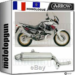 Arrow Pot Echappement Approuve Paris Dacar Honda Xrv 750 Africa Twin 1994 94