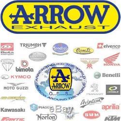 Arrow Pot Echappement Race Enduro Alumilite Honda Xrv 750 Africa Twin 2004 04
