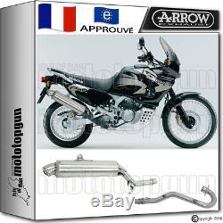 Arrow Silencieux Complete Paris Dacar Acier H Honda Xrv 750 Africa-twin 1997 97