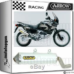 Arrow Silencieux Enduro Alumilite Alu Race Honda Xrv 750 Africa-twin 2004 04