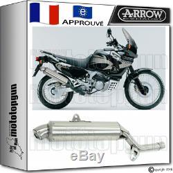 Arrow Silencieux Paris Dacar Acier Hom Honda Xrv 750 Africa-twin 2002 02 2003 03