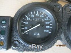 Bloc compteur compte tours 56491 kms pour Honda 750 Africa twin XRV RD07
