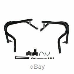Crashbar- barre de protection noire pour Honda XRV 750 Africa Twin fabr. 93-03