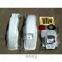 Feux Elba Blanc + Garde-Boue Nost + Baja Honda 750 XRV Africa Twin 1988-1998